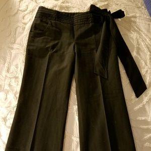 Anthropologie Elevenses Side-Tie Tuxedo Pant